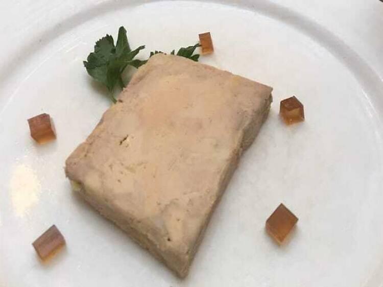 Du foie gras de canard au bistro L'Express