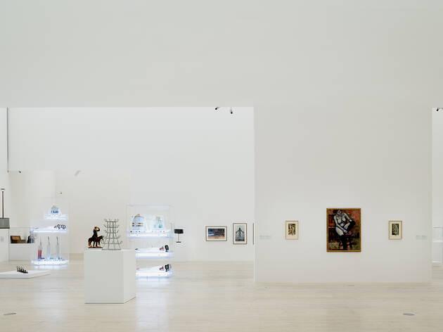 Duchamp-Koons (Foto: Cortesía Museo Jumex)