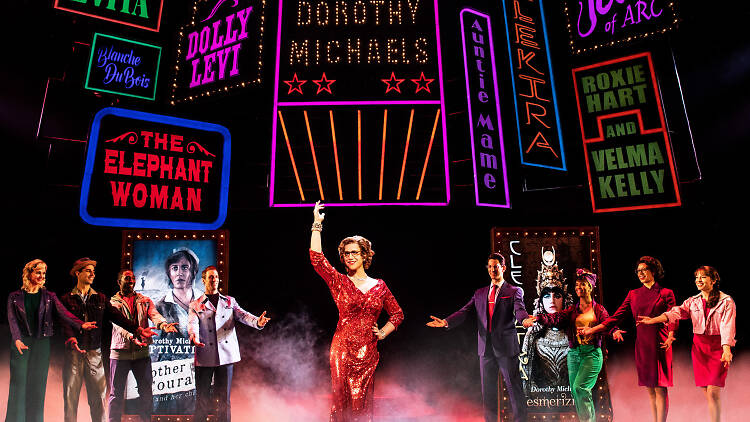 Tootsie musical - from Time Out New York 2019