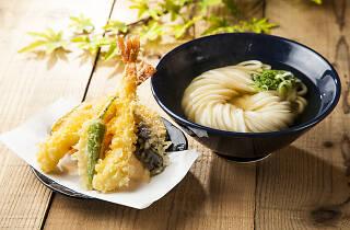 Shin Udon, udon with tempura