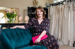 Wedding planner Holly Poulter