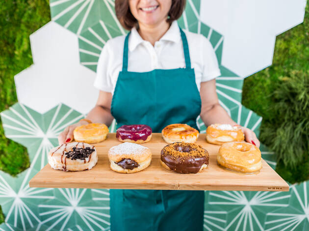 Scoop 'n Dough: há donuts e gelados vegan ao lado do Coliseu