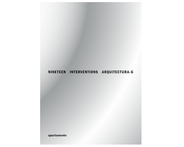 Monografia d'Arquitectura-G per 'Apartamento'