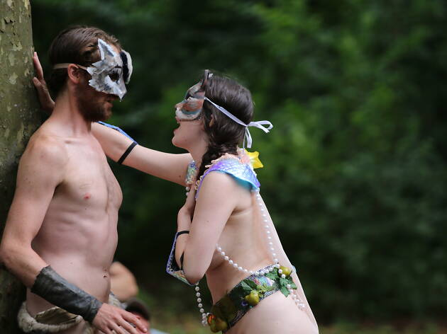 Get ready for more naked Shakespeare in Prospect Park this summer