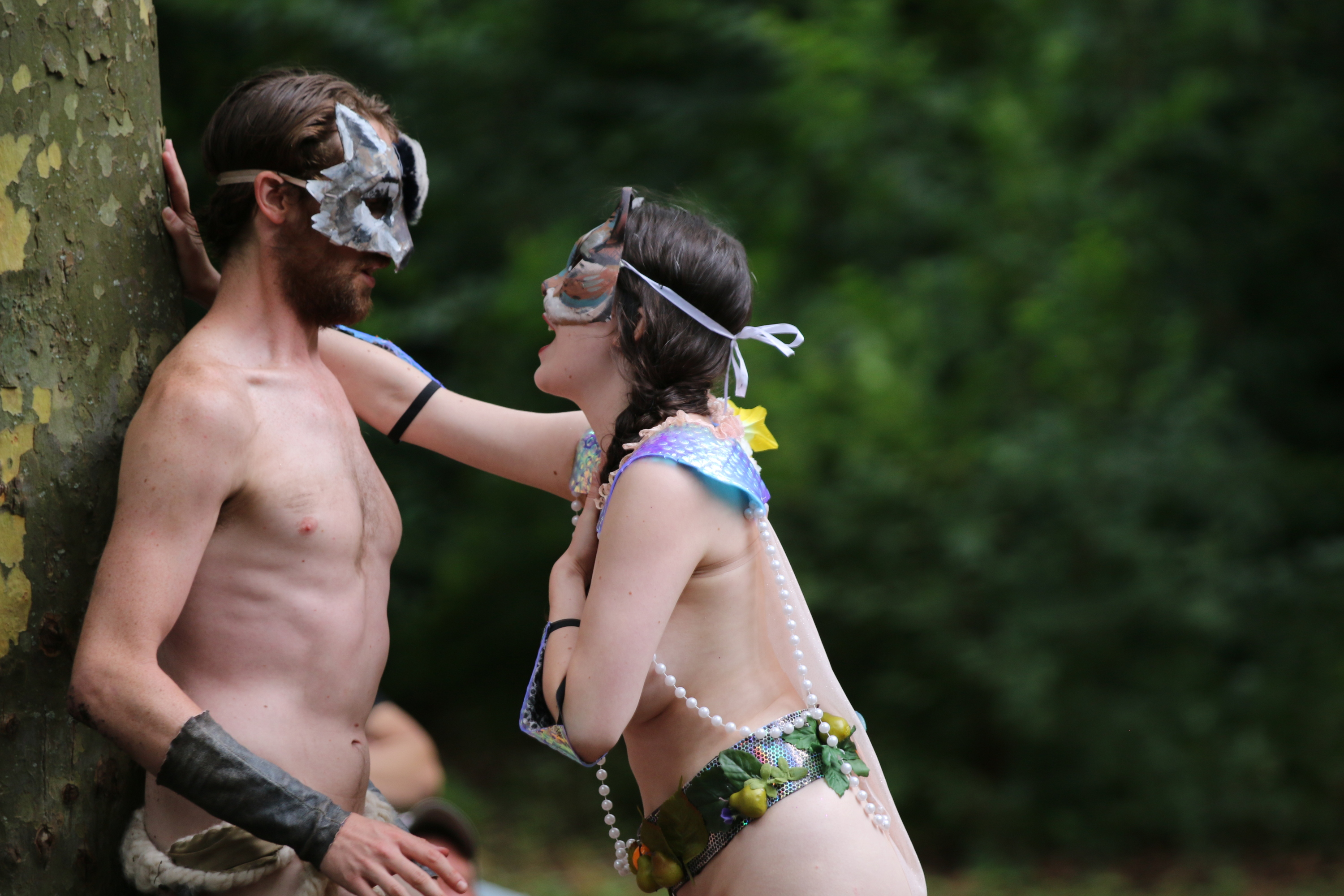 Get ready for more naked Shakespeare in Prospect Park this August