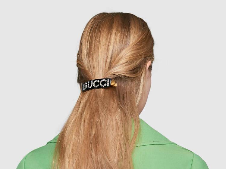 Crystal Gucci Hair Clip