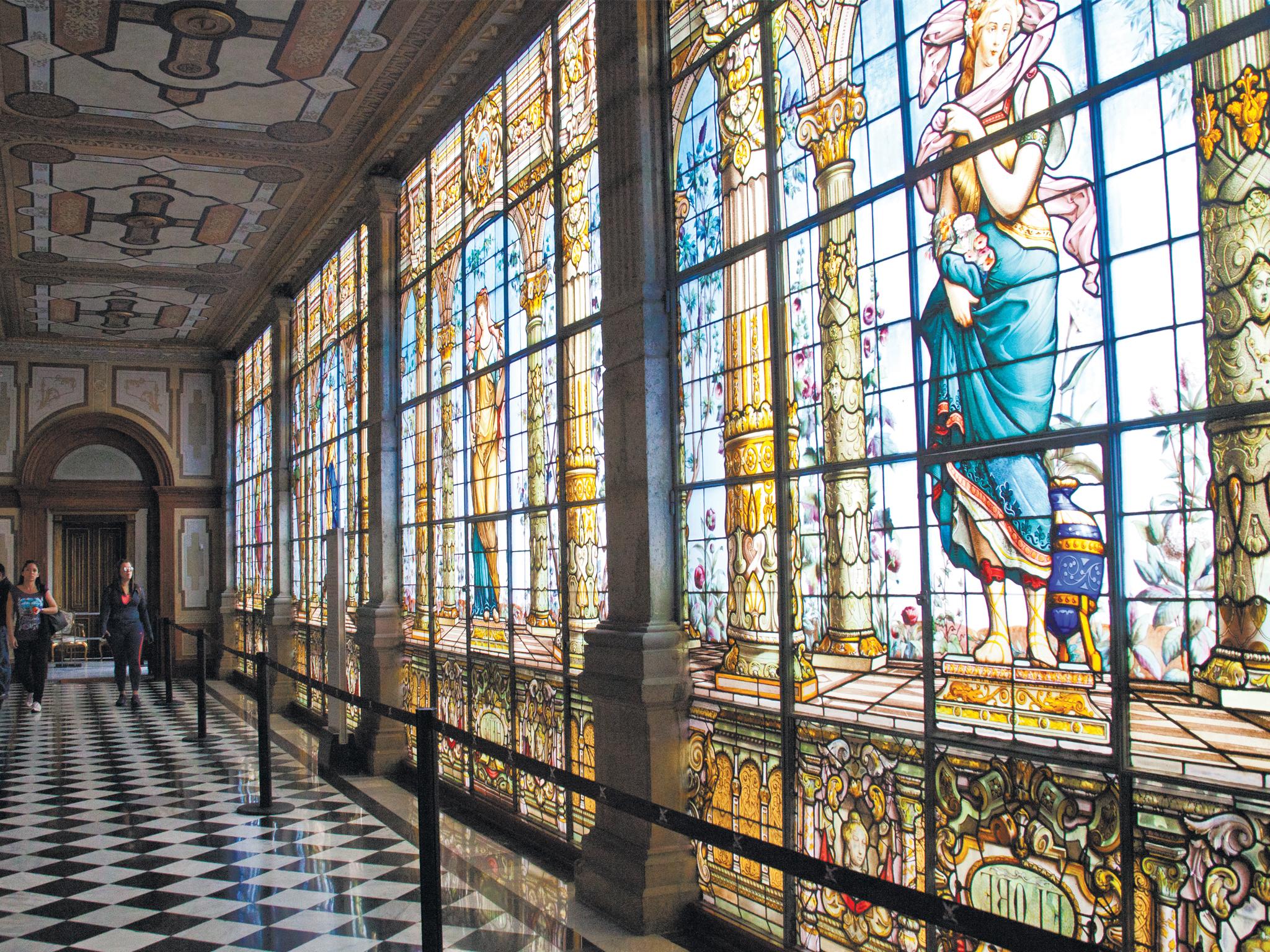 El Museo Nacional de Historia se encuentra en el Castillo de Chapultepec
