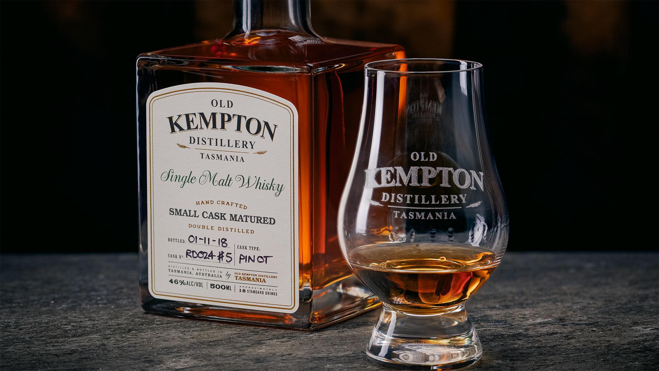 Whisky at Tasmania's Old Kempton Distillery