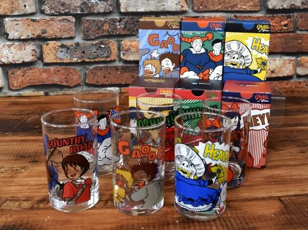 Studio Ghibli releases new comic-themed glass tumblers
