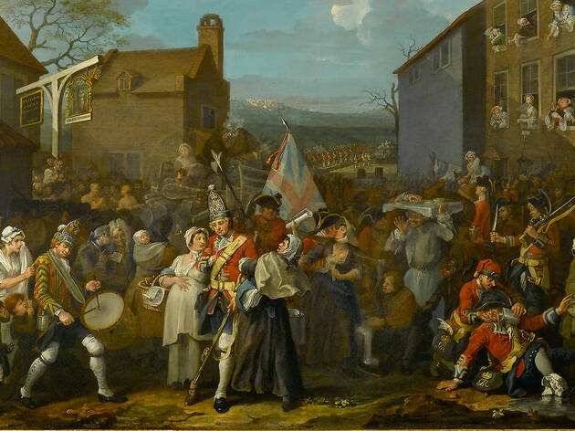 35% off 'Hogarth & The Art of Noise' at Foundling Museum