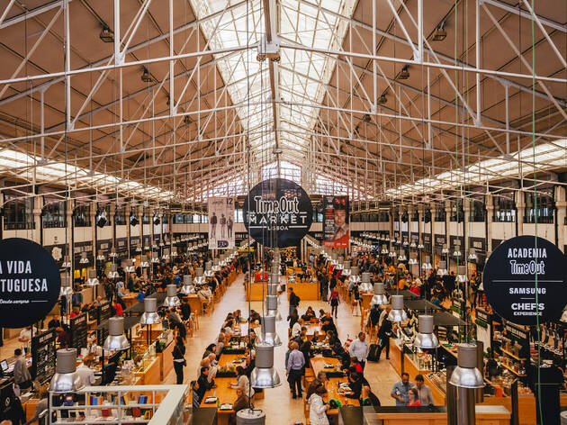 Time Out Market – The Best of the City Under One Roof