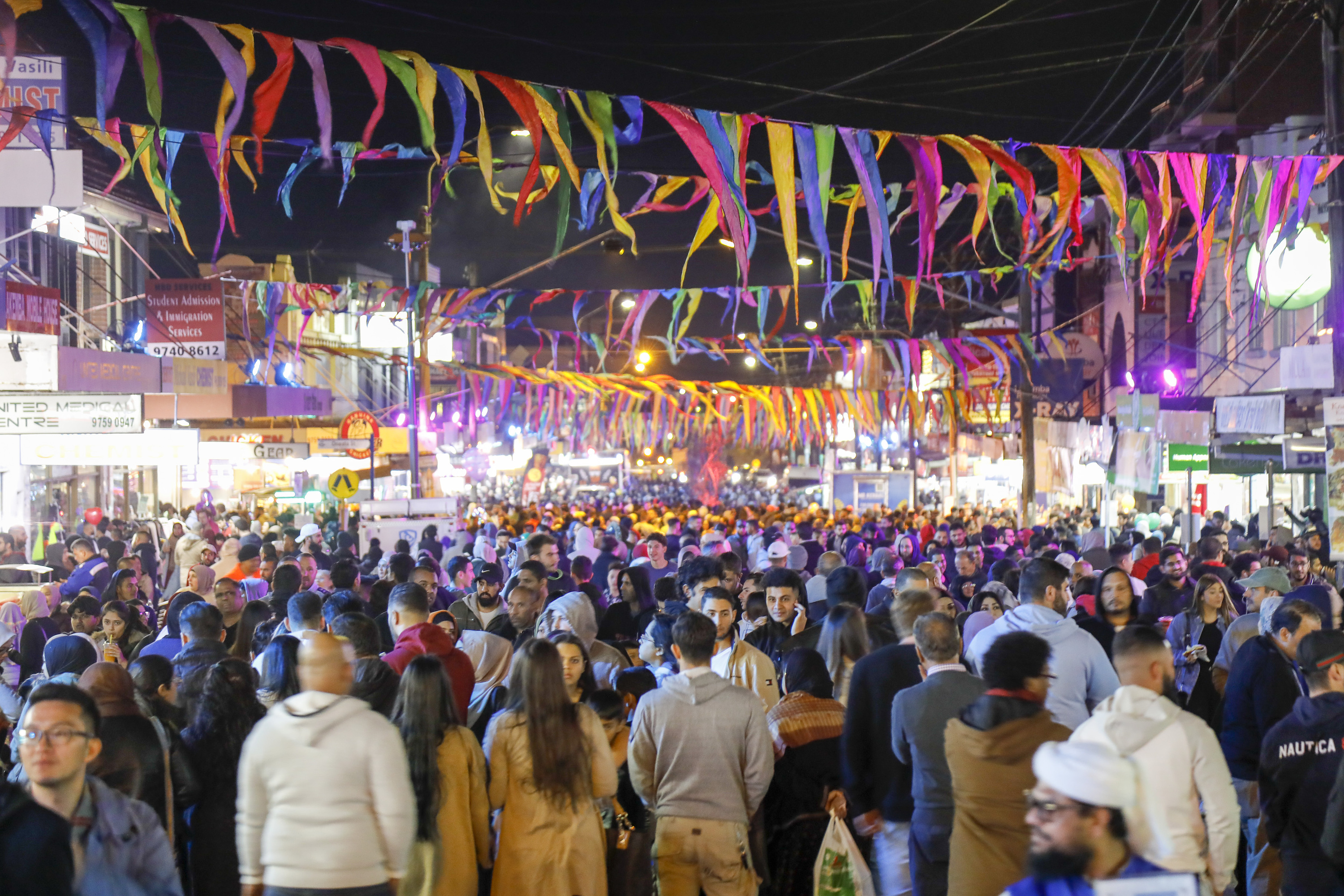 The Ramadan Nights markets in Lakemba have been cancelled for the second year in a row