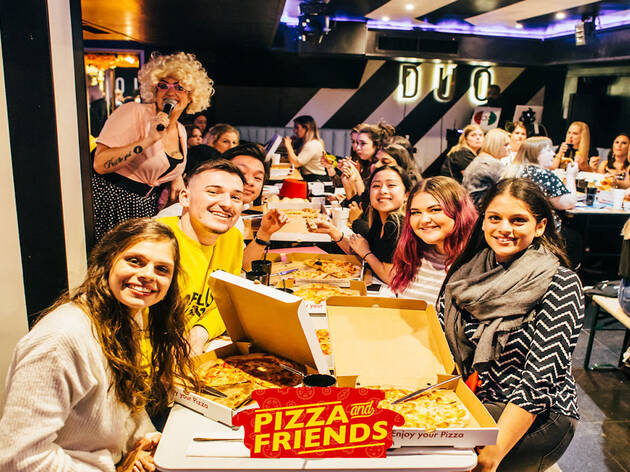 Pizza and 'Friends' at Duo