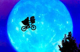 E.T. El extraterrestre de Steven Spielberg