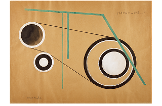 Francis Picabia. Hache-Paille, 1922