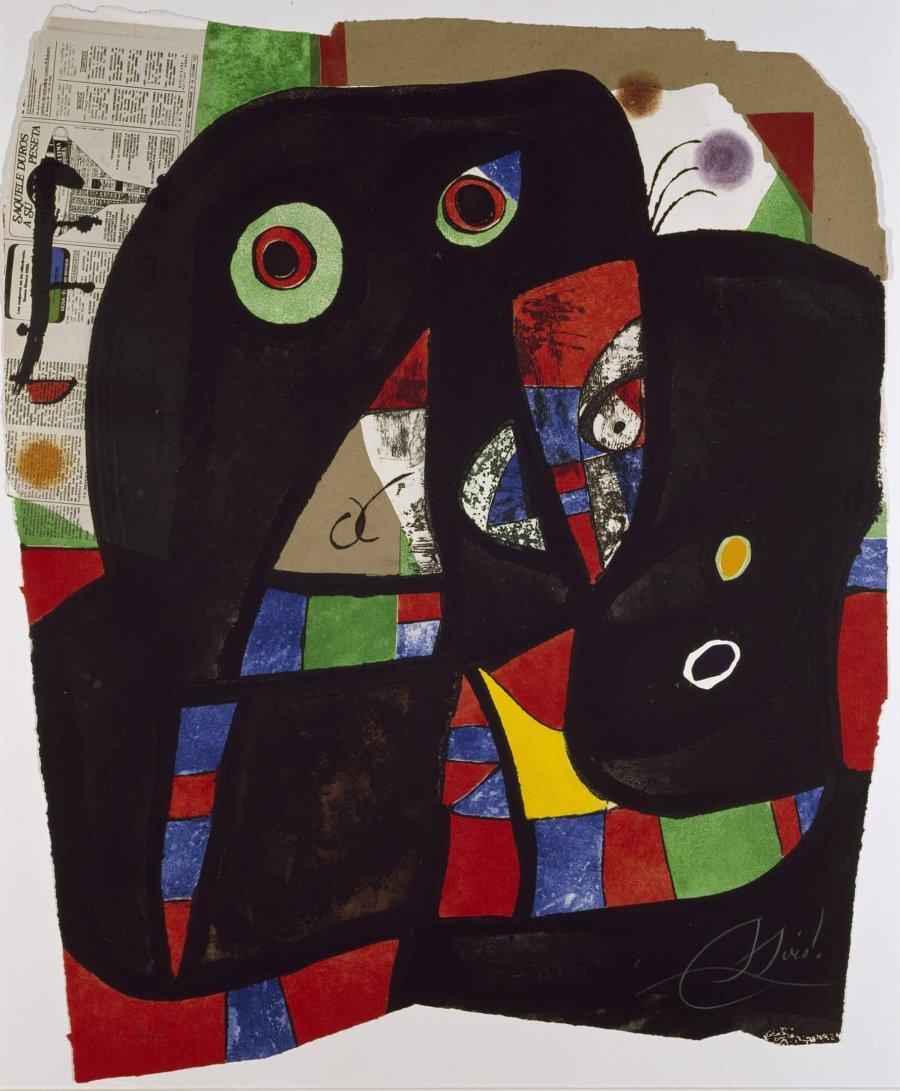 Joan Miró. Gaudí XX, 1979