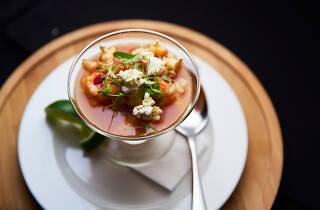 Shrimp ceviche, Norman Van Aken, Time Out Market