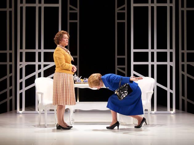 Beth Hylton and Susan Lynskey in HANDBAGGED