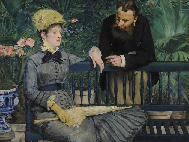 Édouard Manet. In the Conservatory, about 1877–79.