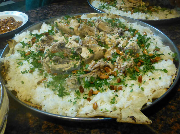 Mansaf, Food