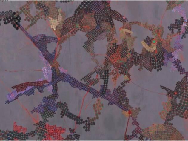 個展「迷いの尺度 ― シグナルたちの星屑に輪郭をさがして」
