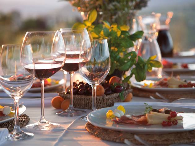Istrian wine and food