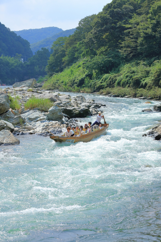 Rafting in Nagatoro
