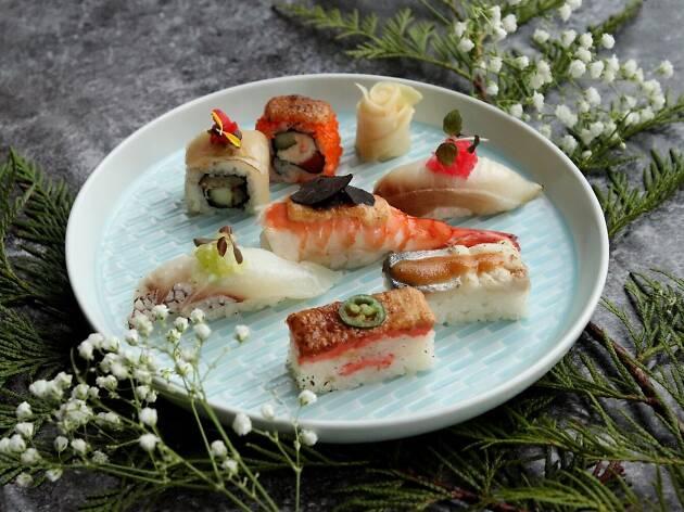 Japan, food, sushi