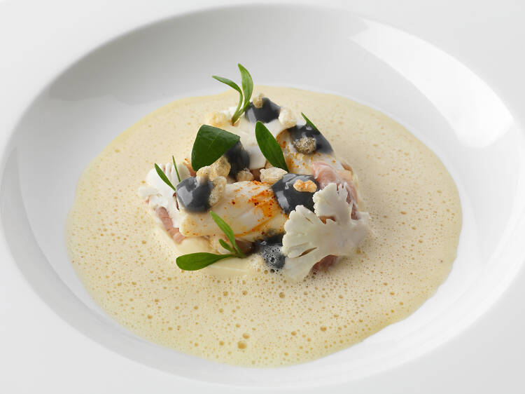 Eat a Michelin-starred meal at Restaurant Martin Wishart