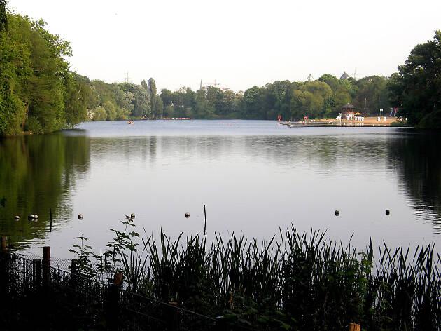 A view over Strandbad Plötzensee