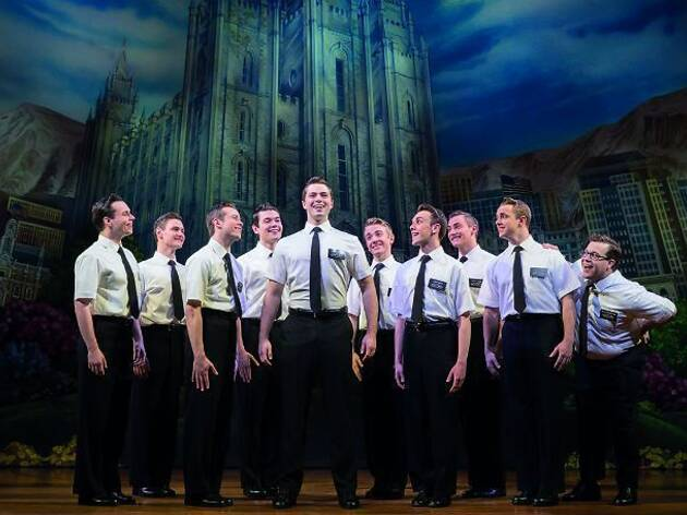 'The Book of Mormon' at Prince of Wales Theatre