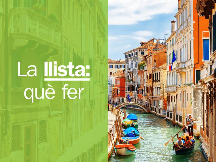 Les 20 millors coses per fer a Venècia