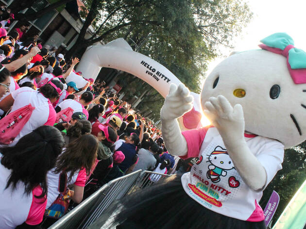 Hello Kitty Fun Run (Cortesía: Gran Carrera Hello Kitty)