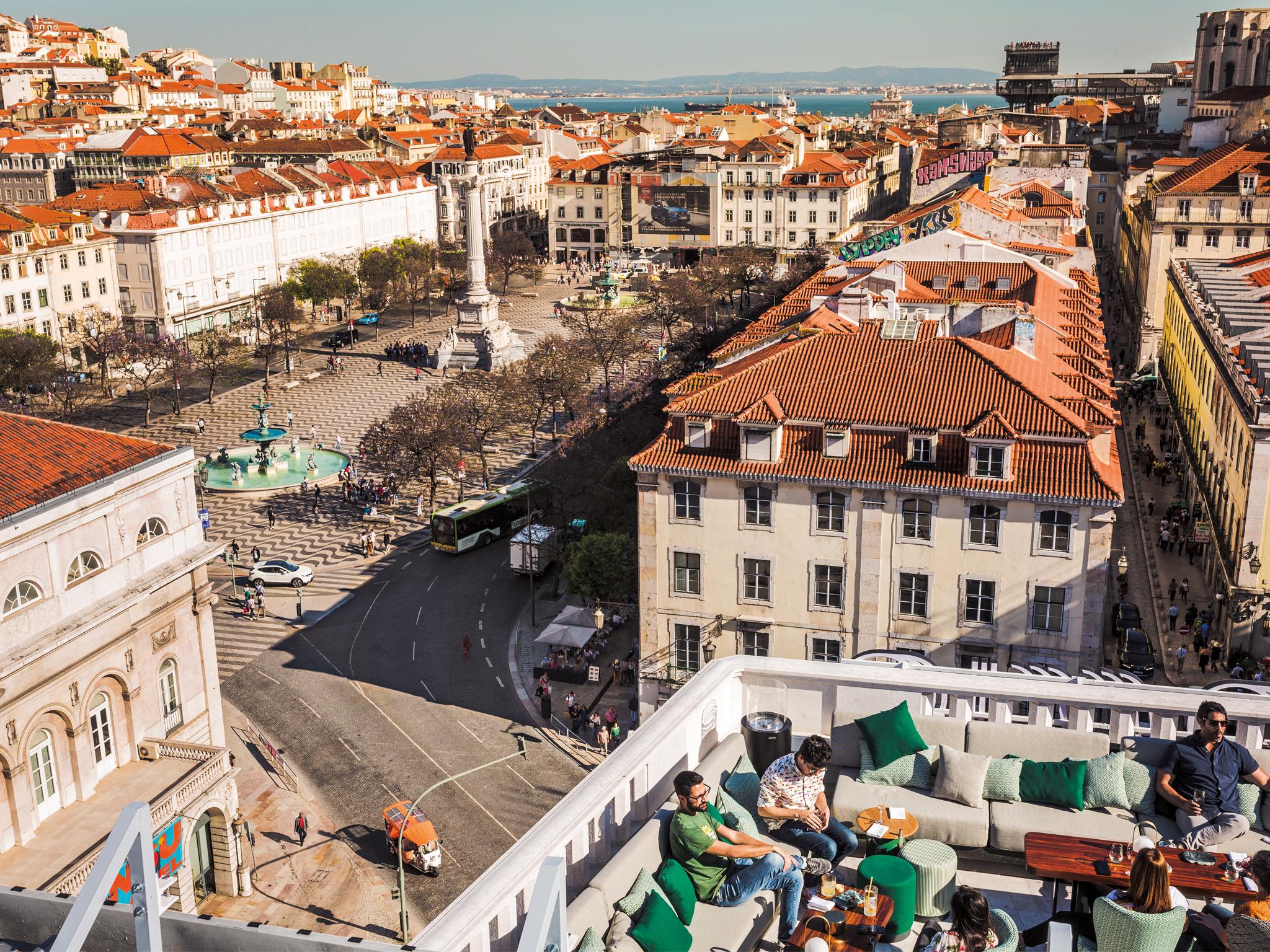 As melhores esplanadas em Lisboa