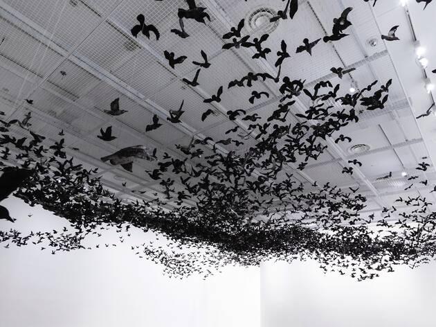 (Installation view. Photograph: Tobias Titz)