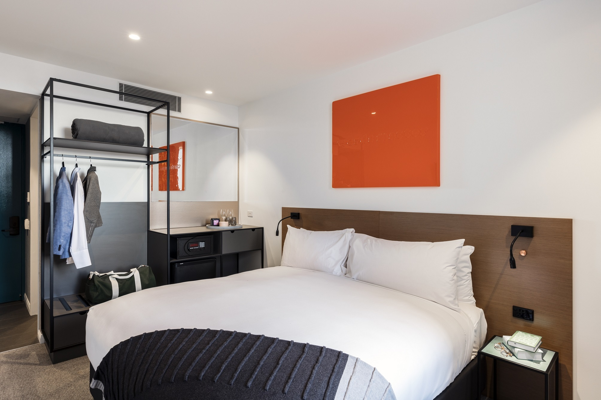 Bedroom at Citadines Connect Sydney Airport