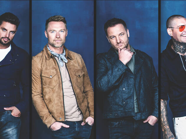 We chat with Boyzone before their last concert in Singapore