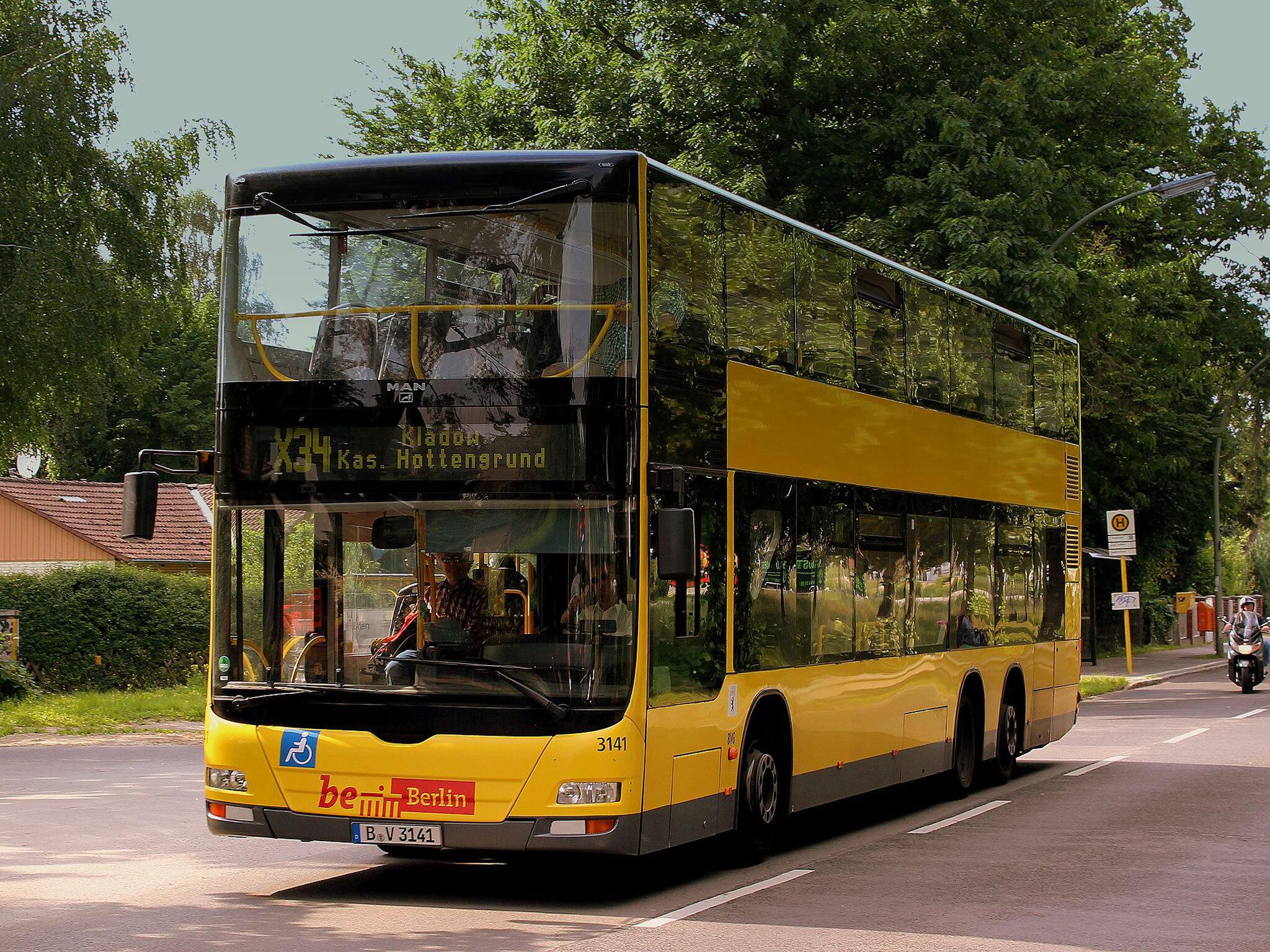 A bus in Berlin