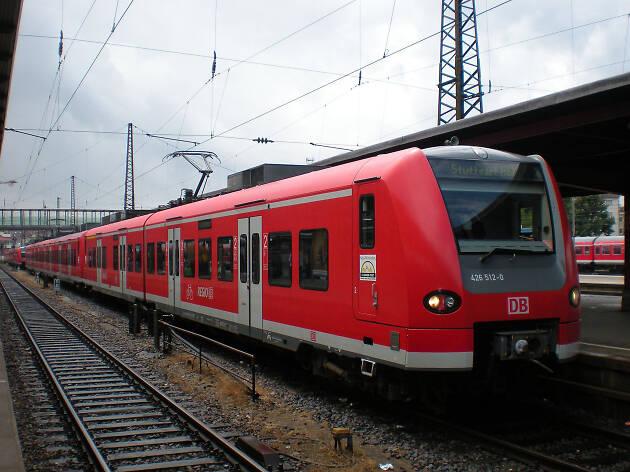 A regionalbahn train in Berlin