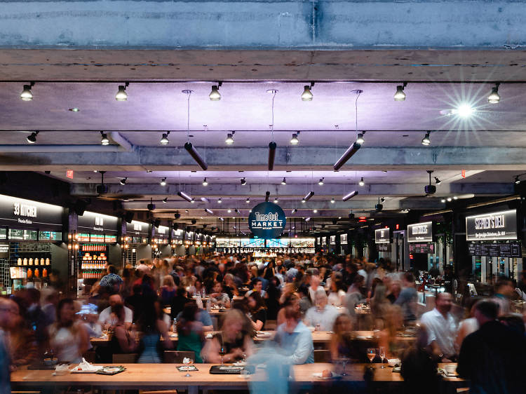 The best food halls in Miami for the eater who wants it all