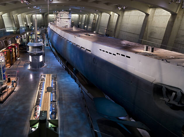 U-505 Submarine, Museum of Science and Industry Chicago