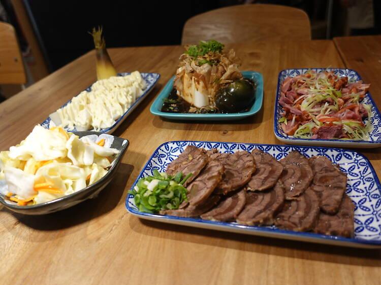 吃什麼:台式涼菜