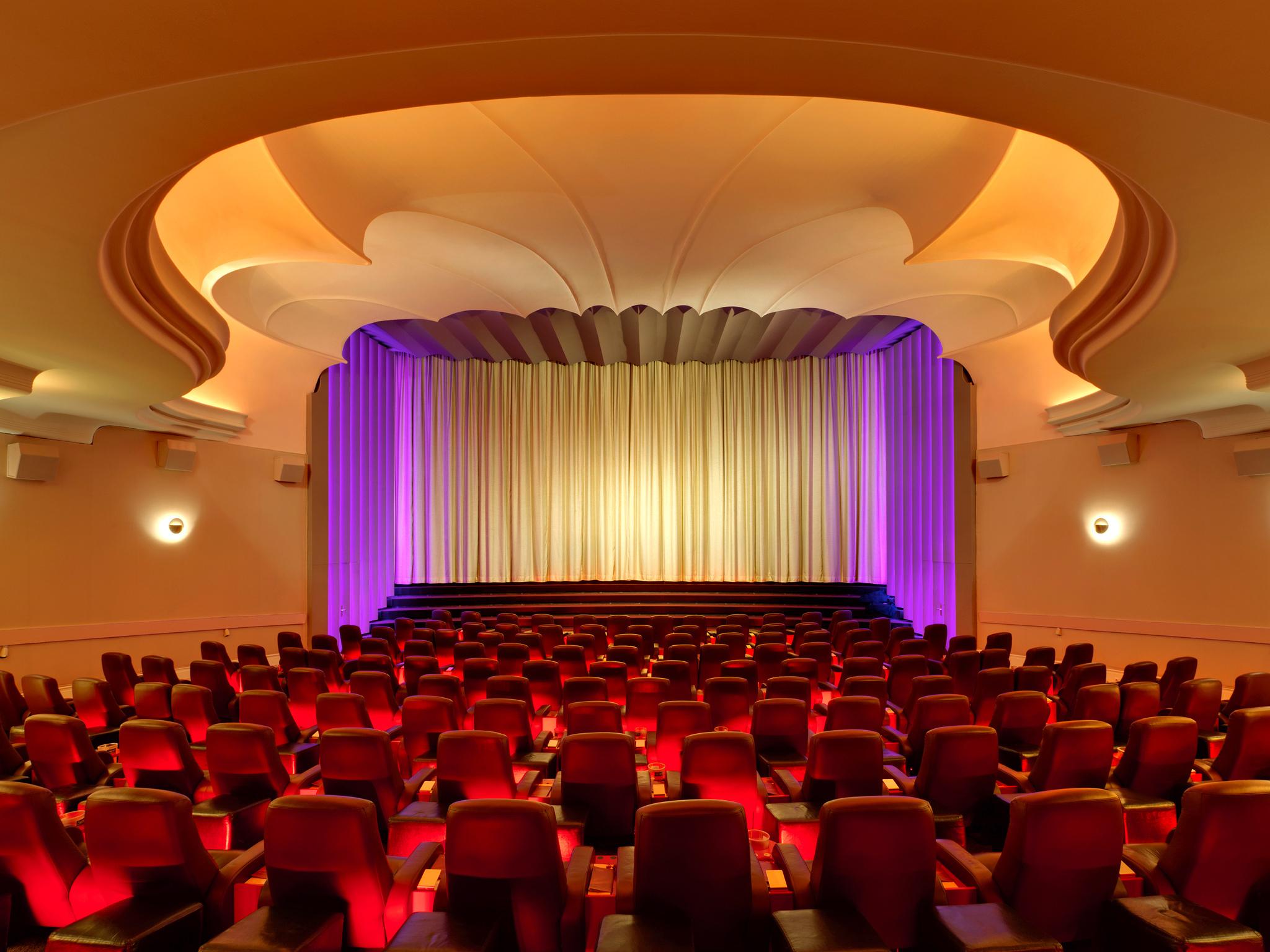 Inside the Astor Film Lounge cinema in Berlin