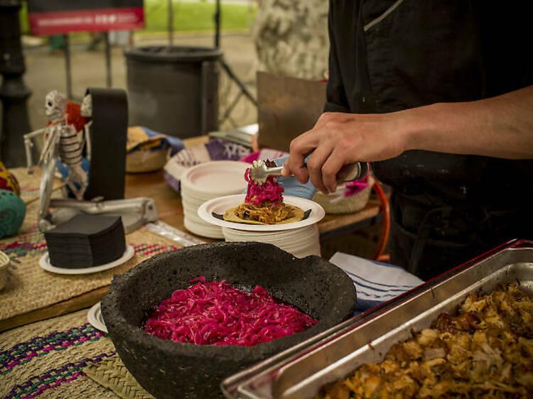 El tacos mexicans de Joan Bagur