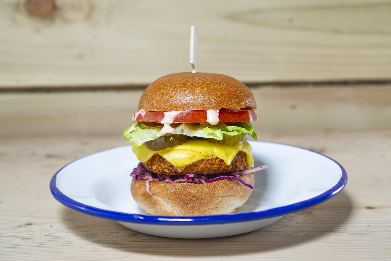 Vegan Burger, Wicked Vegan, 14 Hildreth St, Balham, London SW12 9RQ