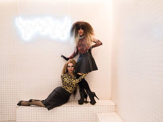 Eva Blunt y Amondi Blunt (Foto: Alejandra Carbajal)