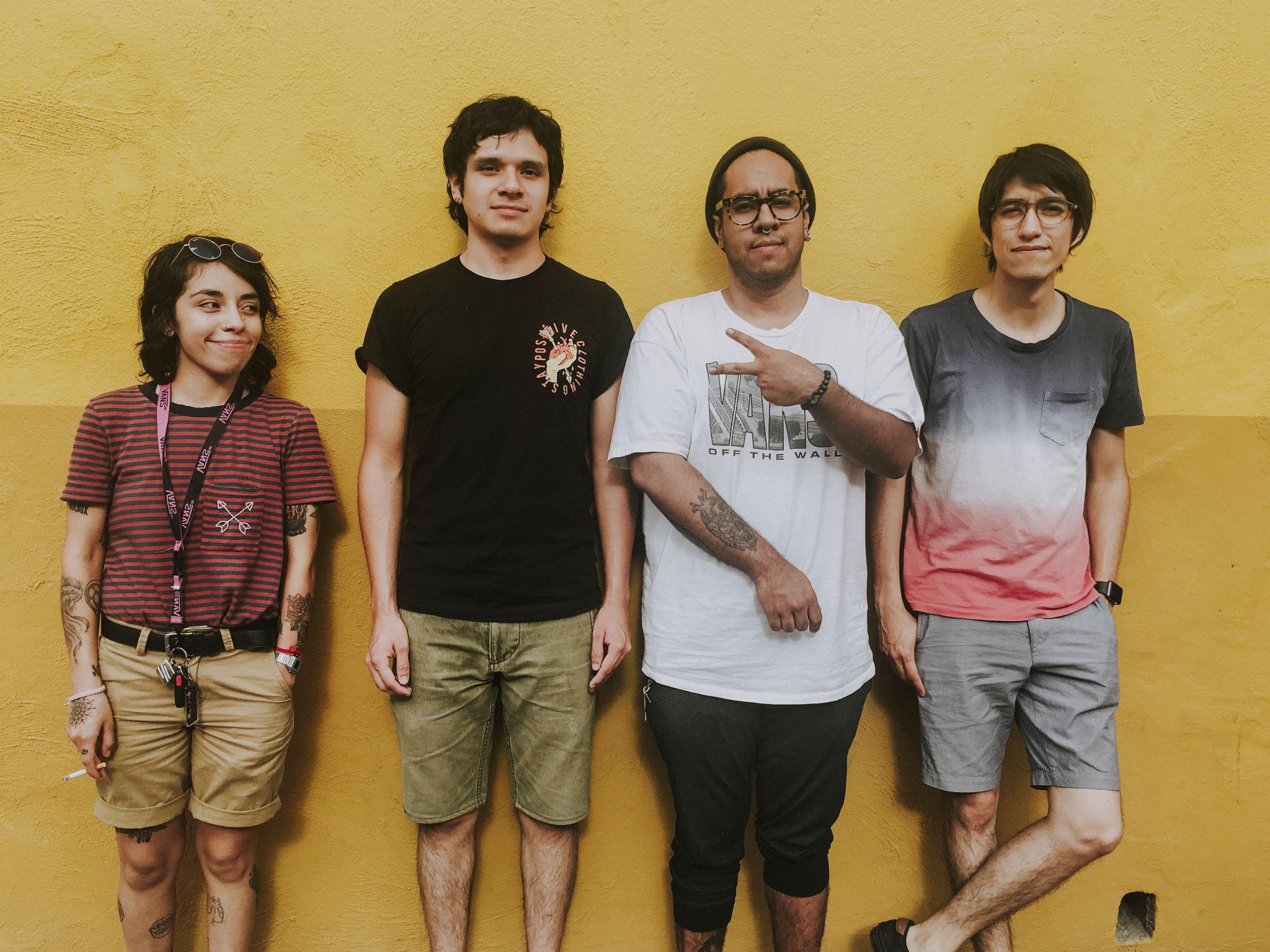 La banda Holbox está integrada por cuatro chicos