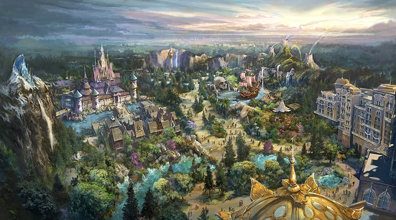 Tokyo DisneySea's new extension to feature 'Frozen', 'Tangled' and 'Peter Pan'