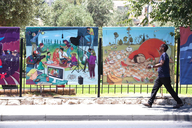 Outline Festival: Illustration & Poetics in Jerusalem