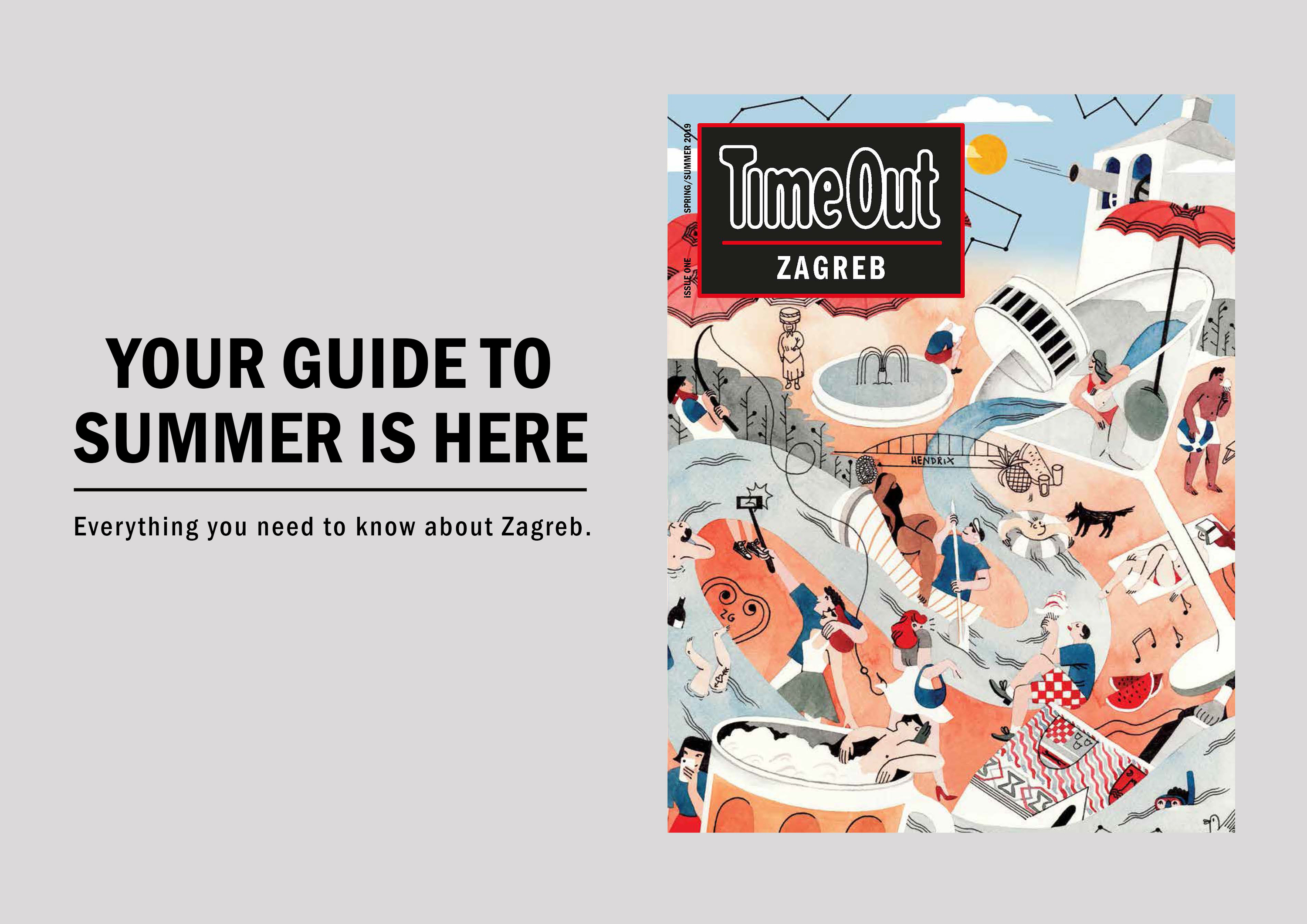 Time Out Zagreb spring-summer 2019 out now
